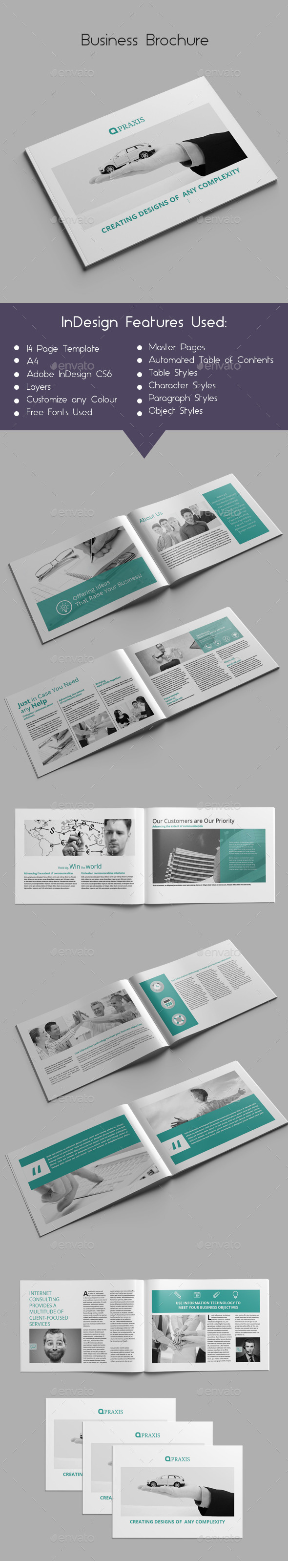GraphicRiver Business Brochure 9901931