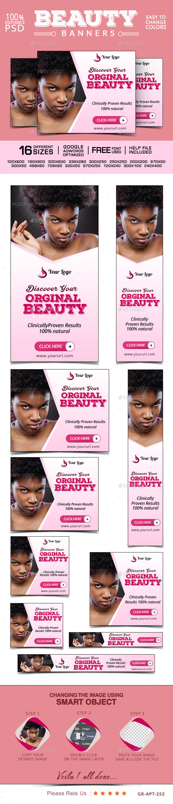 GraphicRiver Health & Beauty Banners 9902017