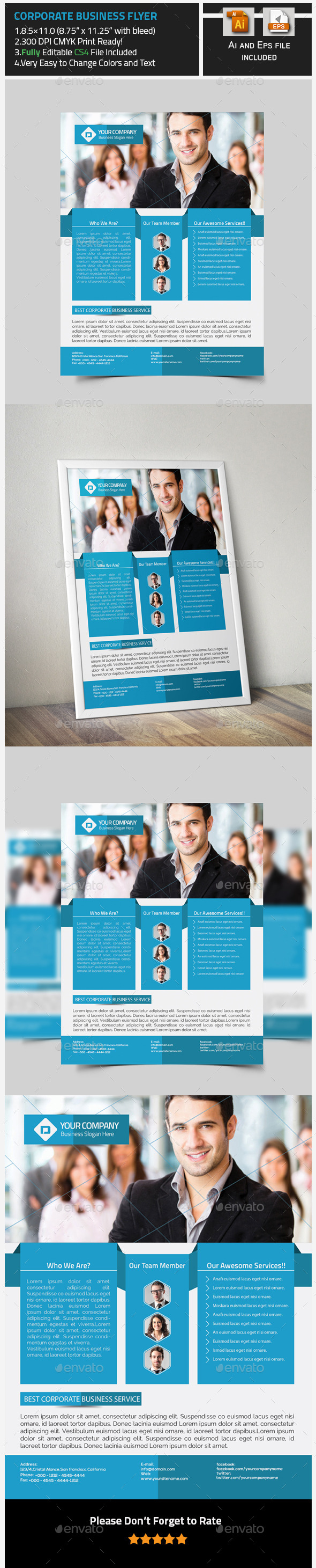 GraphicRiver Corporate Flyer Design 9902111