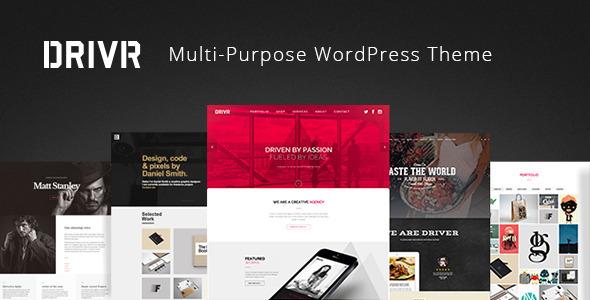 Driver Responsive Multi-Purpose Wordpress Theme