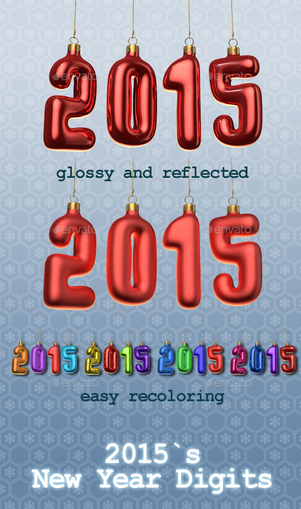 2015`s New Year Digits