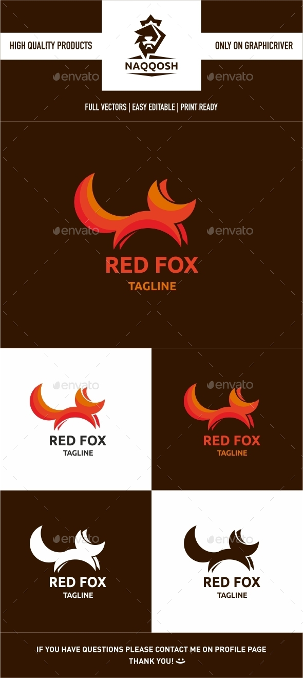 GraphicRiver Red Fox 9903354