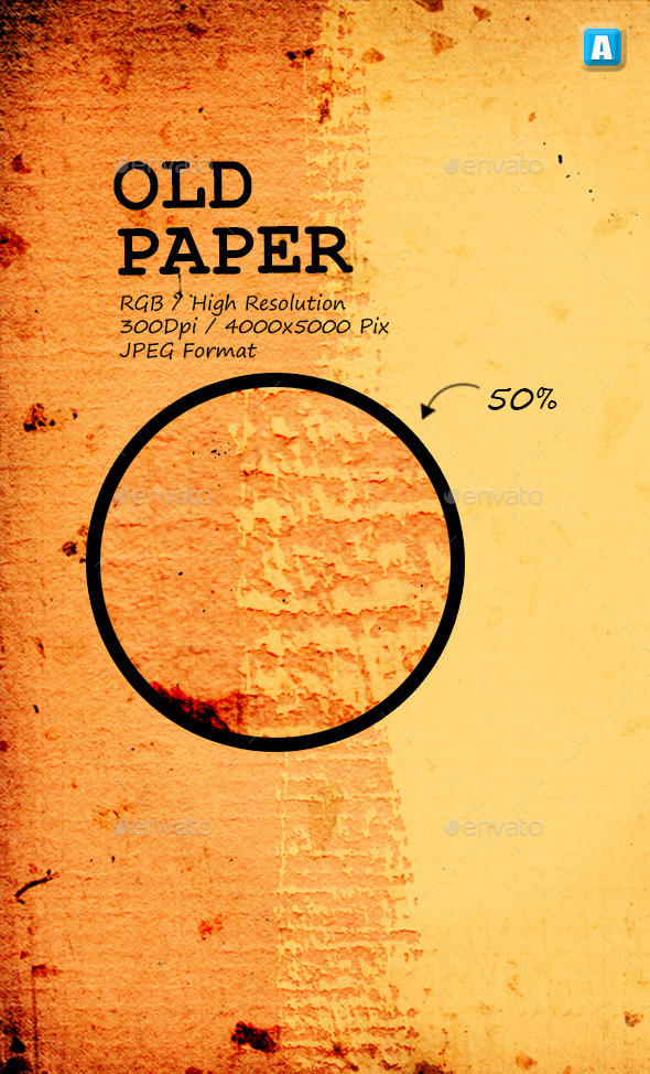 GraphicRiver Old Paper Texture 0003 9903708