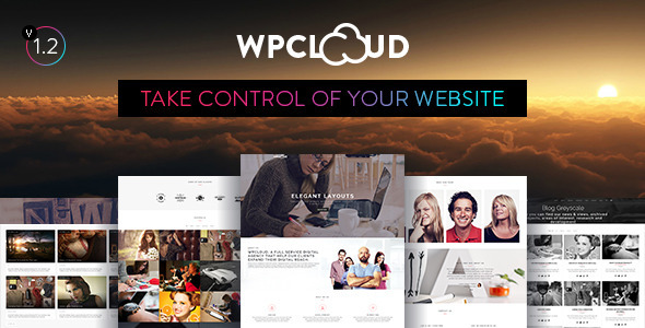 WPCLOUD Creative One-Page Theme