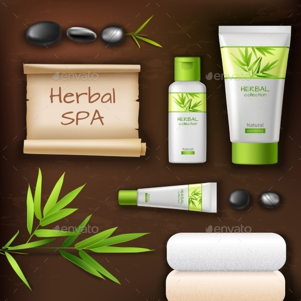 GraphicRiver Natural Spa Cosmetics 9904192