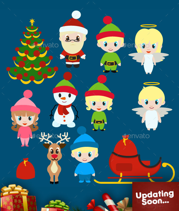GraphicRiver Christmas Collection 9897666