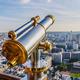 Tourist telescope Eiffel Tower - PhotoDune Item for Sale