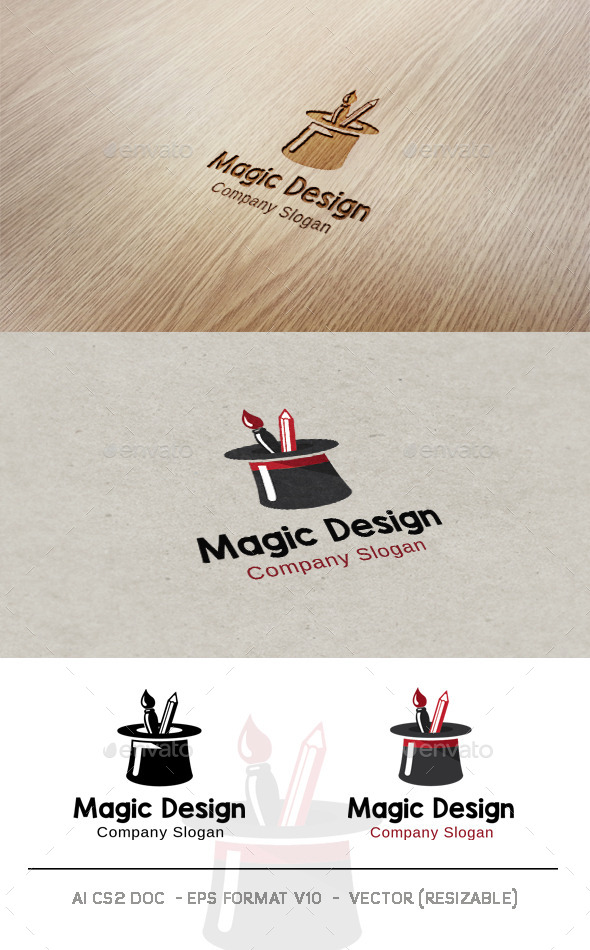 GraphicRiver Magic Design Logo 9904815