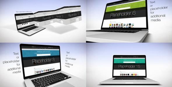 Laptop 3D Presentation