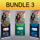Corporate Business Rollups Bundle 3 - GraphicRiver Item for Sale
