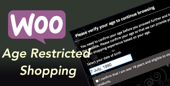 CodeCanyon Woocommerce Age Restricted Shopping 9905011
