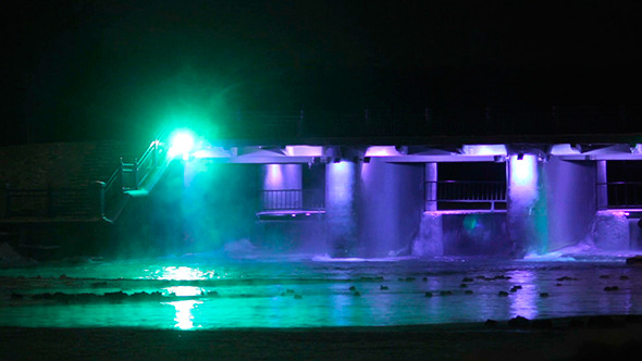 Illuminated Waterworks