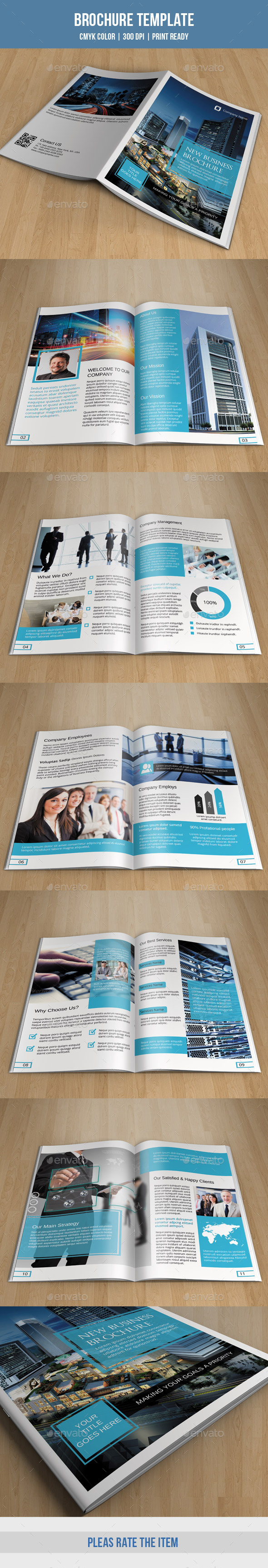 GraphicRiver Corporate Bifold Brochure-V181 9905722