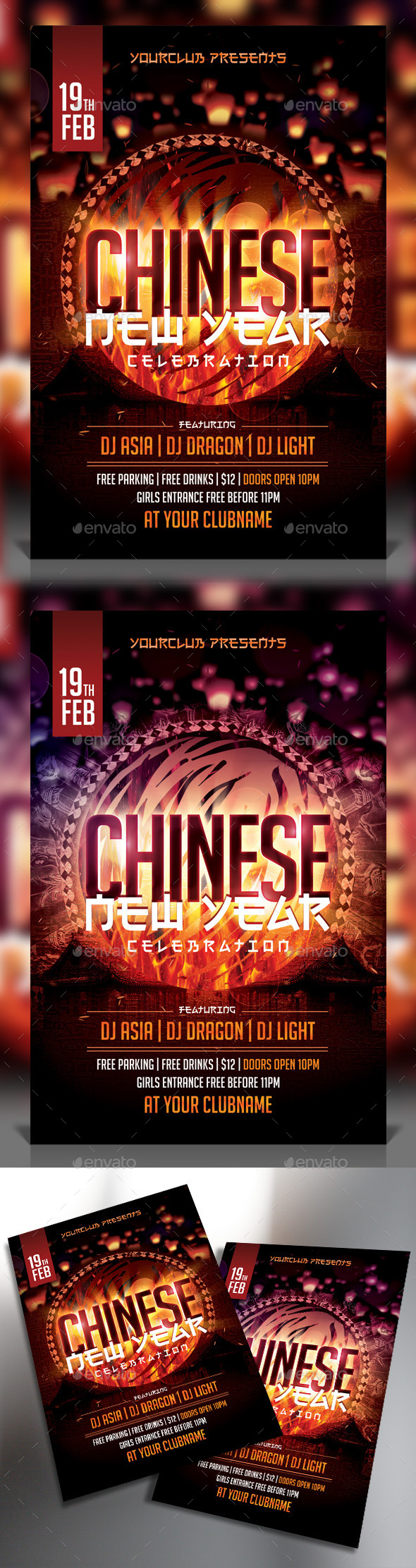 GraphicRiver Chinese New Year Flyer 9905916