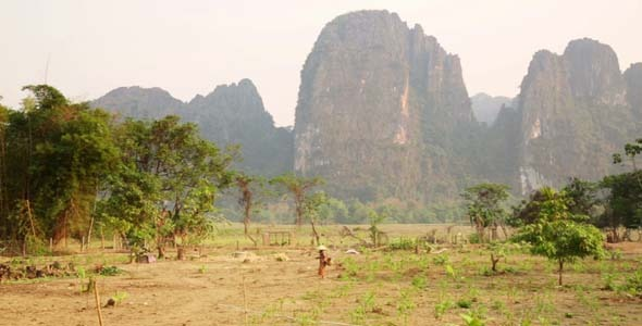 Easygoing Daily Life of Vang Vieng Laos 2