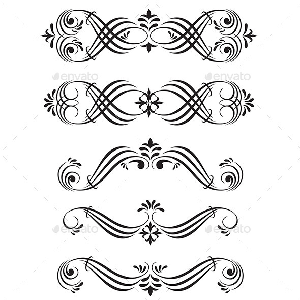 GraphicRiver Ornamental Elements 9906202