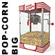 Big Popcorn machine