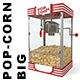 Big Popcorn machine - 3DOcean Item for Sale