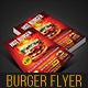 Hot Burger Best Promotion Flyer  - GraphicRiver Item for Sale
