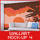 Wall Art Mock-Up vol.4 - GraphicRiver Item for Sale