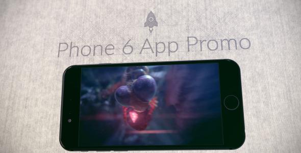Phone 6 App Promo