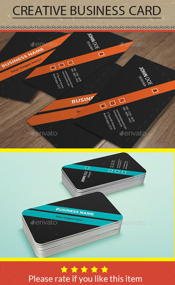 GraphicRiver Creative Business Card 9906877