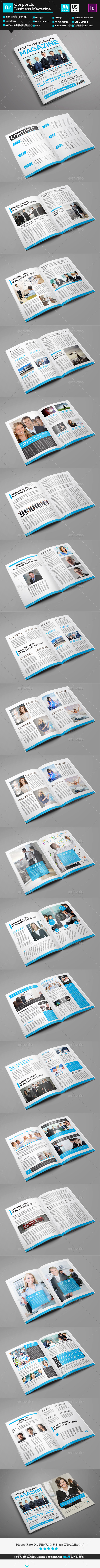 GraphicRiver Corporate Business Magazine 9789663