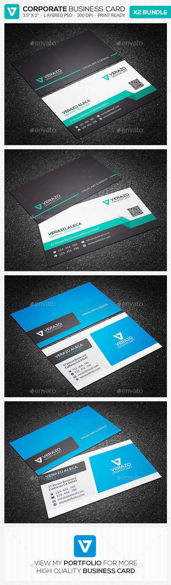 GraphicRiver Business Card Bundle 13 9907052