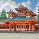 Heian Jingu Shrine in Kyoto, Japan - PhotoDune Item for Sale