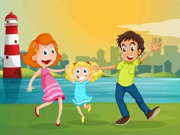 GraphicRiver Happy Family 9907705