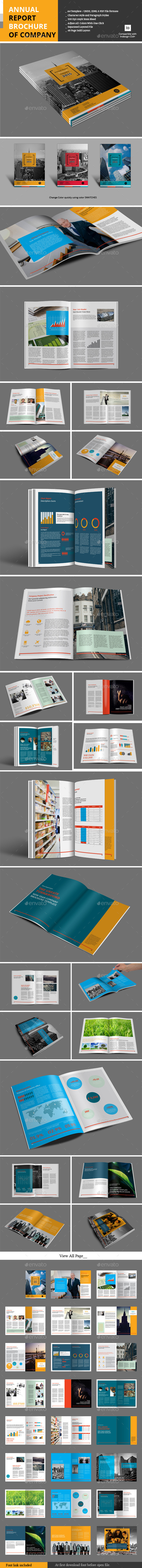 GraphicRiver Annual Report Brochure of Company 9907797