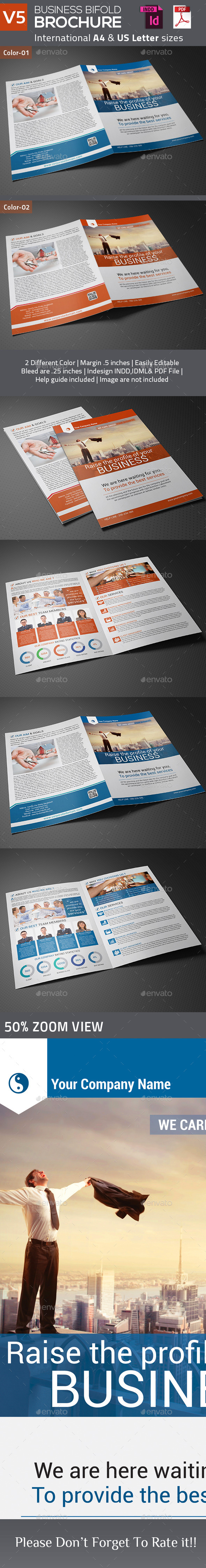 Business Bifold Brochure V5