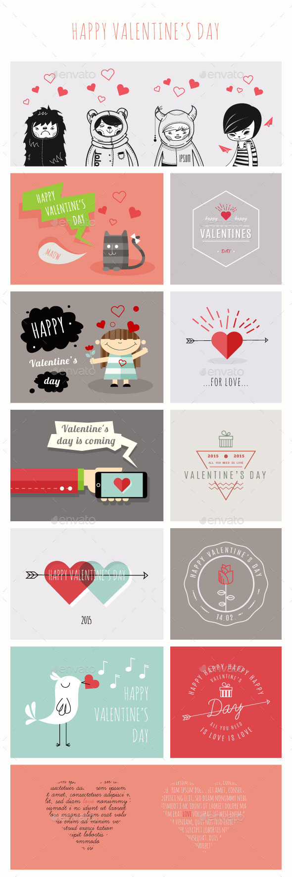 GraphicRiver Happy Valentine s Day 9908141