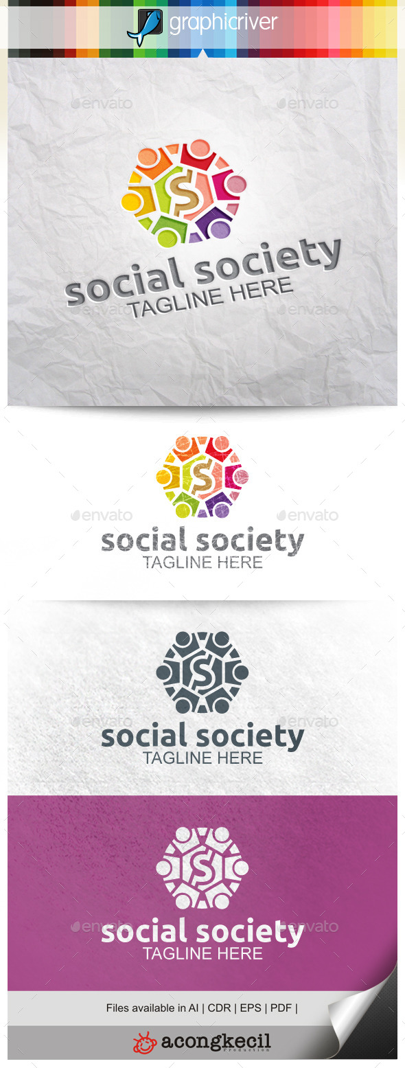 GraphicRiver Social Society 9908160