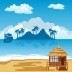 Tropical Island and Seaside - GraphicRiver Item for Sale