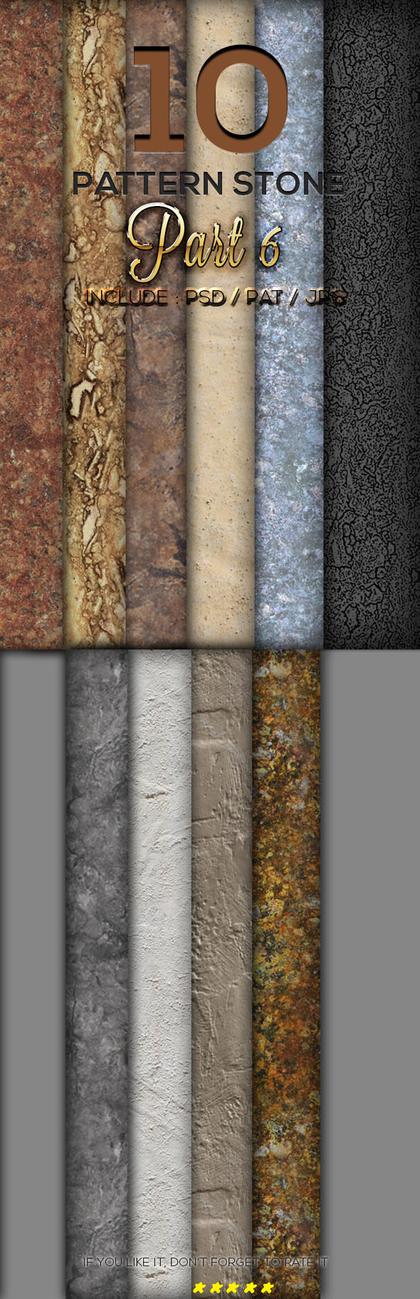 GraphicRiver 10 Stone Texture Pattern Part 6 10 Stone Texture 9908384