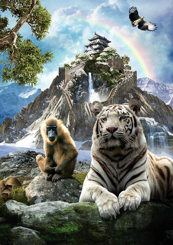 TutsPlus How to Create a Surreal Fantasy Scene 125725