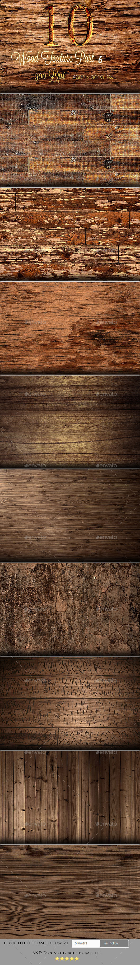 GraphicRiver 10 wood texture part 6 9908726