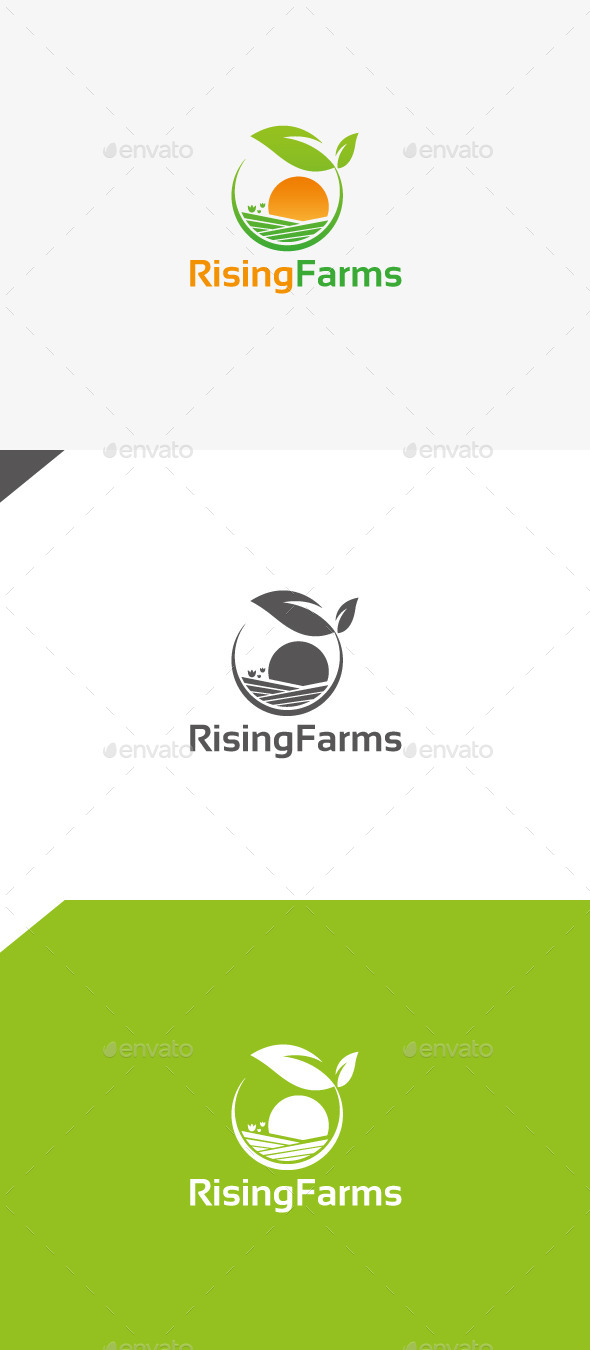 GraphicRiver Rising Farms 9909169