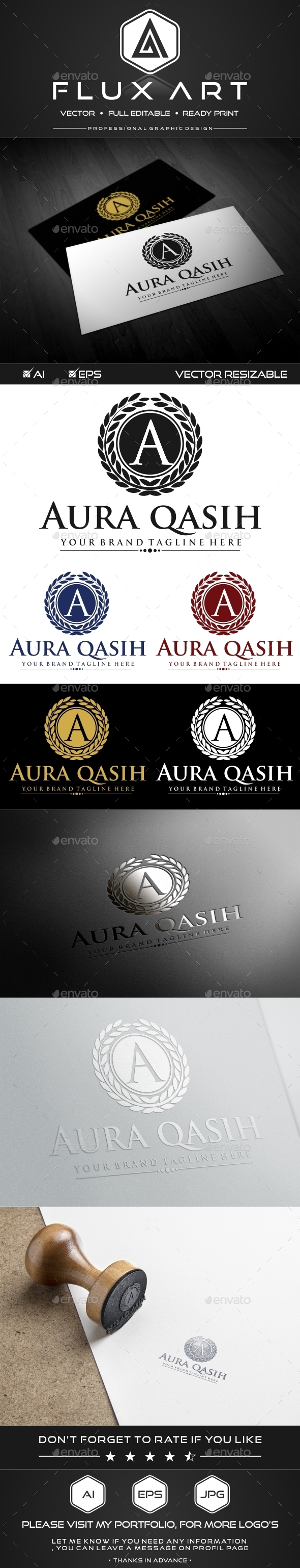 GraphicRiver A Luxury Logo 9909768