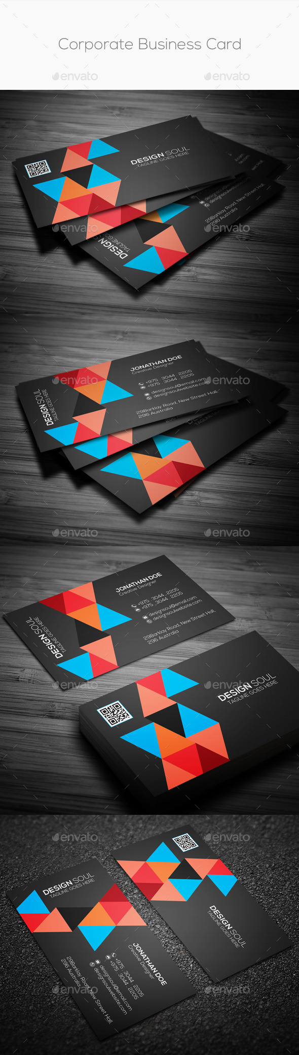GraphicRiver Corporate Business Card 9909822
