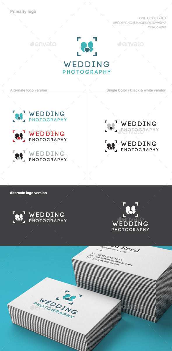 GraphicRiver Love Story Photo Logo 9895180