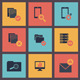 Vector Flat Web Icons Set 8 - GraphicRiver Item for Sale