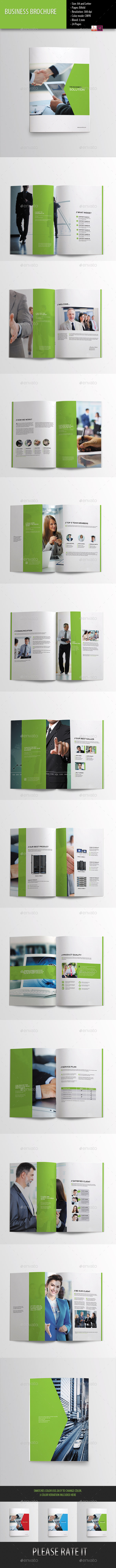 GraphicRiver Business Brochure-Indesign Template 9910158