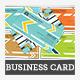 Corporate Business Card Arrow Template - GraphicRiver Item for Sale