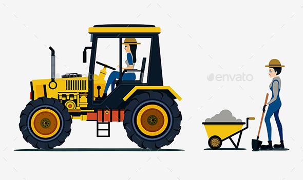 GraphicRiver Farmers 9910624