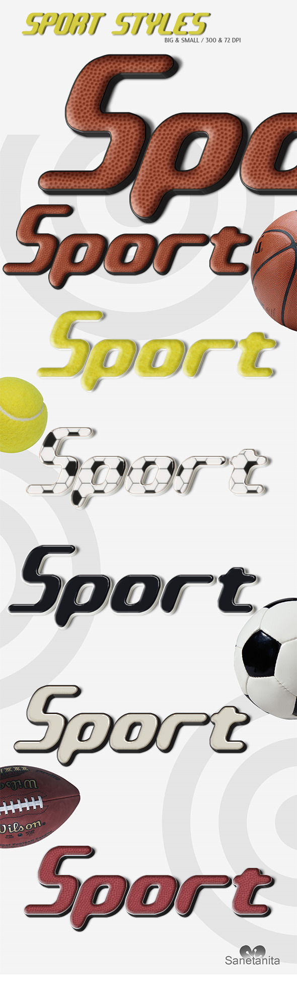 GraphicRiver Sport Text Styles 9910682