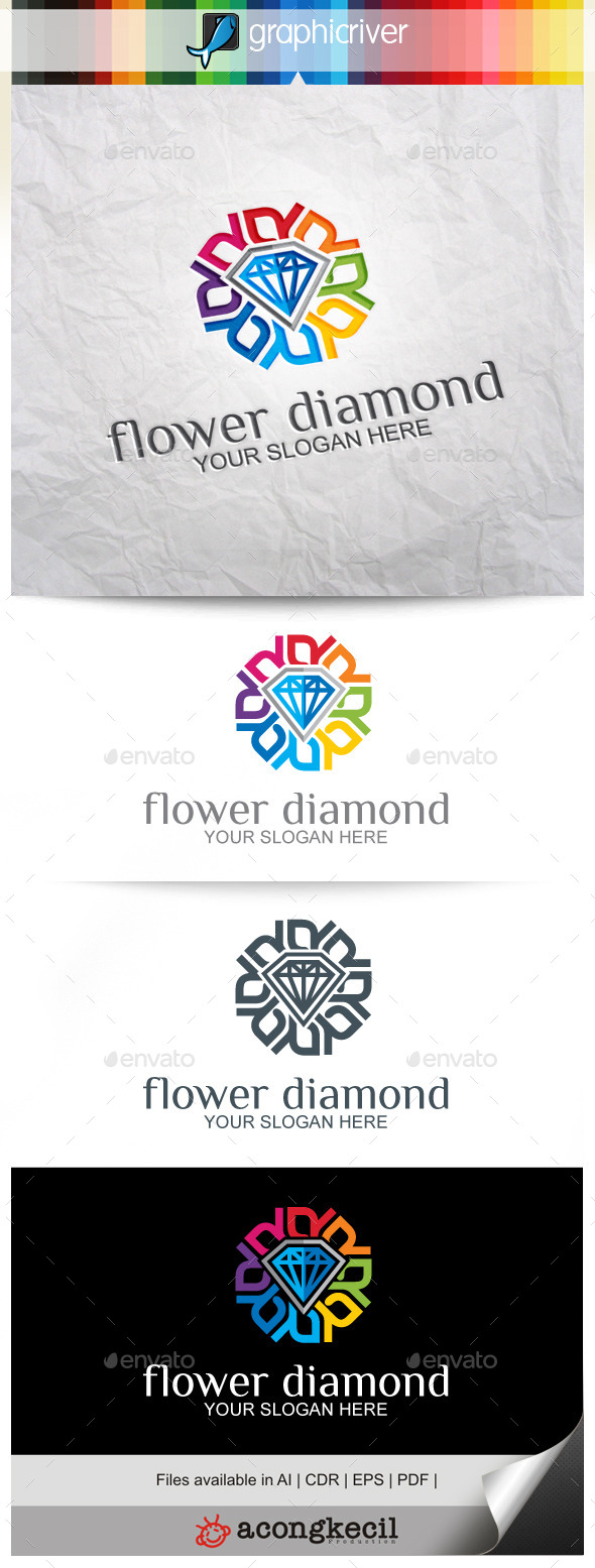 GraphicRiver Flower Diamond V.4 9911030