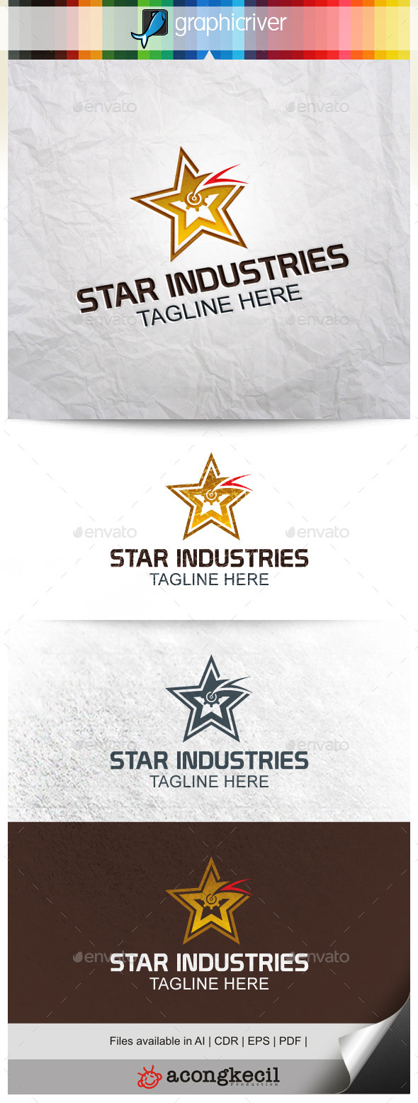 GraphicRiver Star Industry 9911041