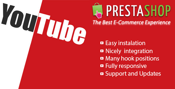 Responsive Video Youtube for Prestashop